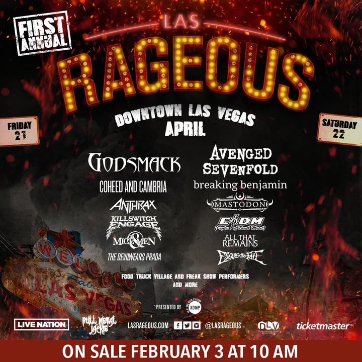 Escape the Fate @ Downtown Las Vegas Events Center - Las Vegas, NV