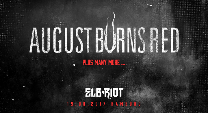 August Burns Red @ ELB-RIOT - Hamburg, Germany