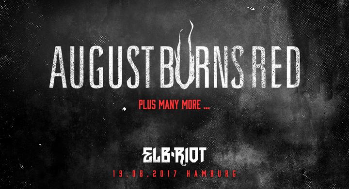 August Burns Red @ ELB-RIOT - Hamburg, Germany