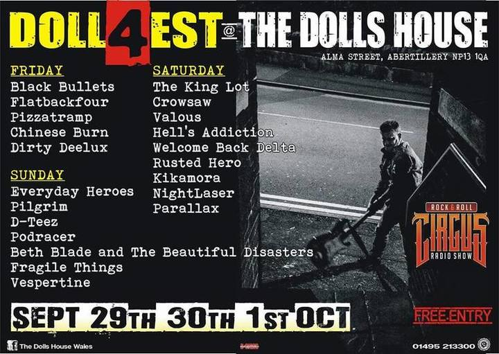 The King Lot @ The Dolls House - Abertillery, United Kingdom