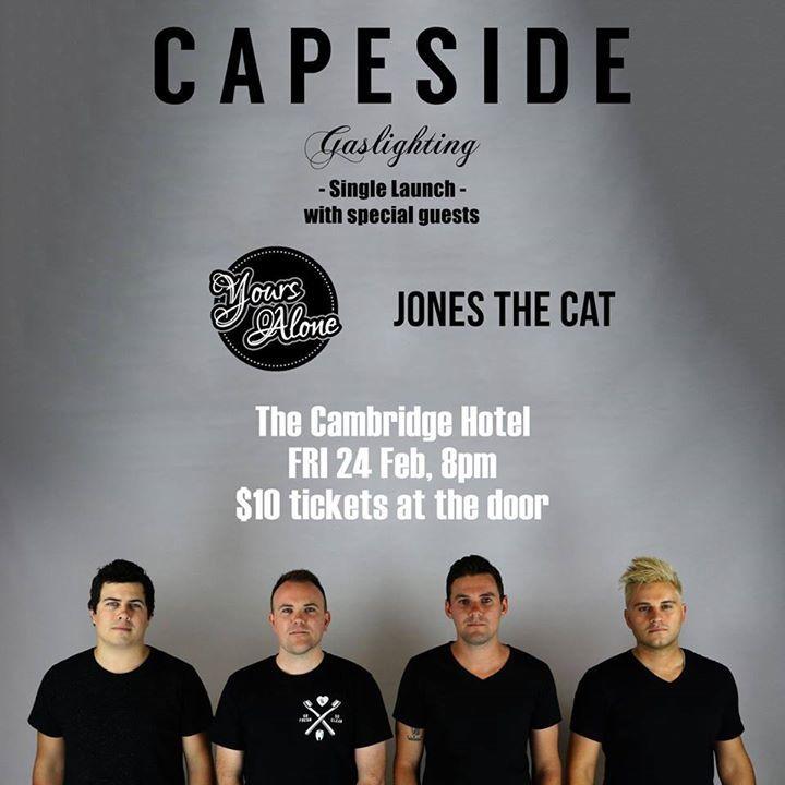 Capeside Tour Dates