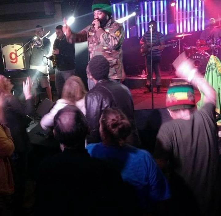 Adwela & The Uprising @ Brewbakers HOMEBASS Event - Winchester, VA