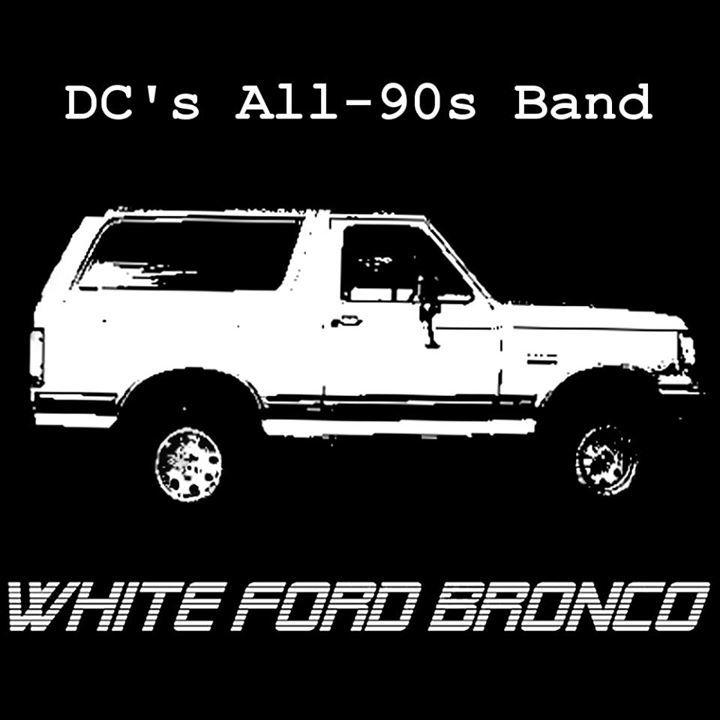 White Ford Bronco @ Gypsy Sally's - Washington, DC