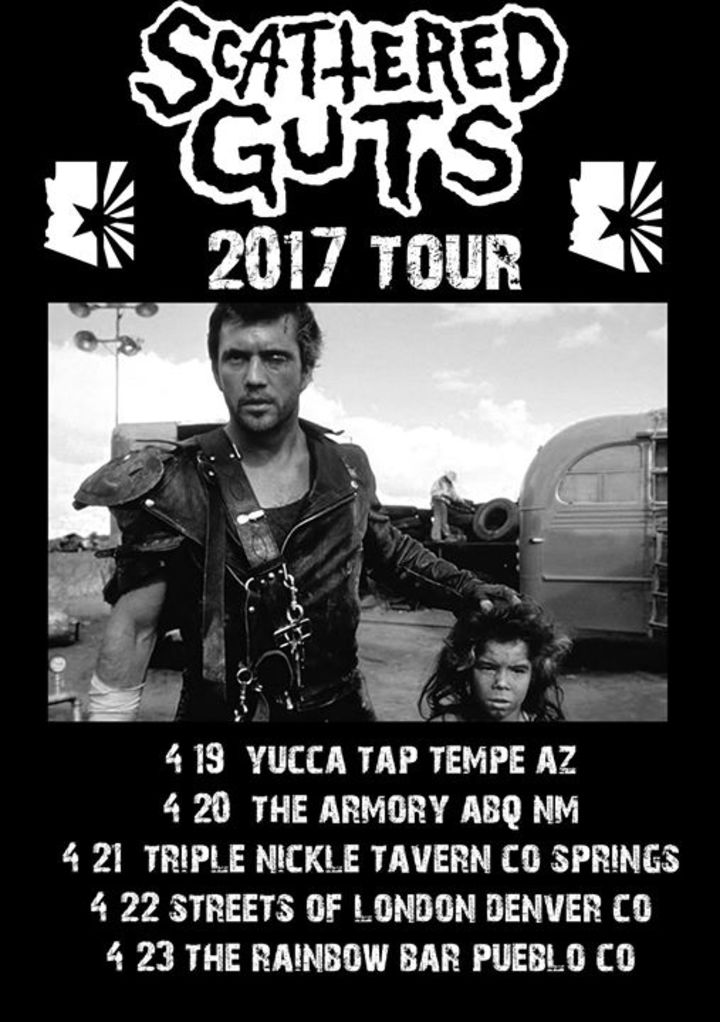 Scattered Guts Tour Dates