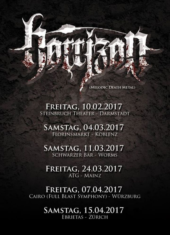 HORRIZON Tour Dates