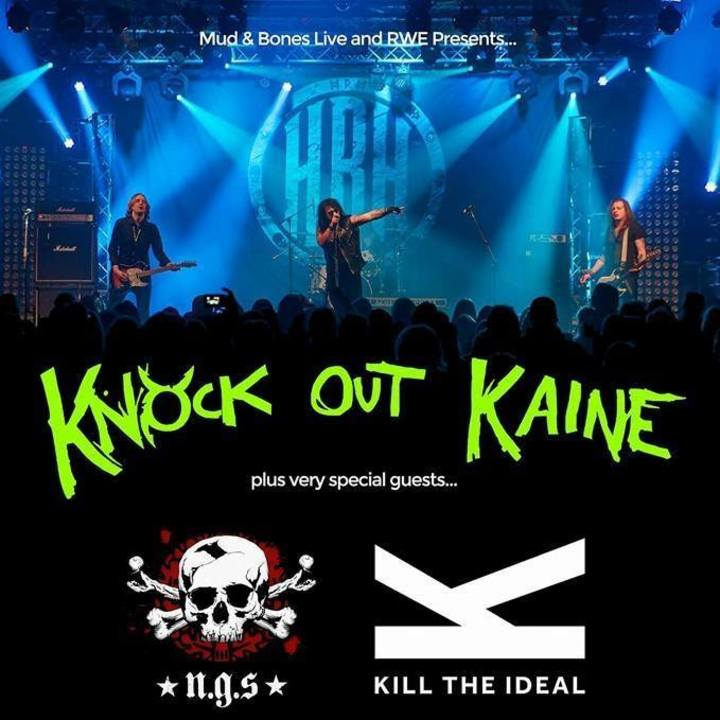 Knock Out Kaine @ REAL TIME LIVE - Chesterfield, United Kingdom