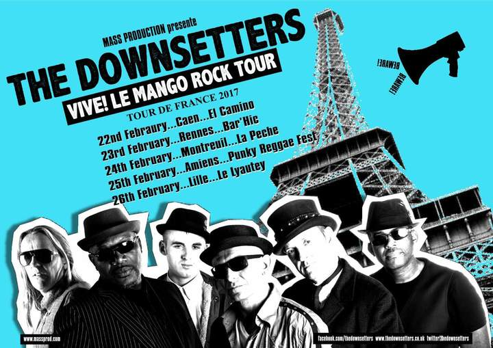 The Downsetters Tour Dates
