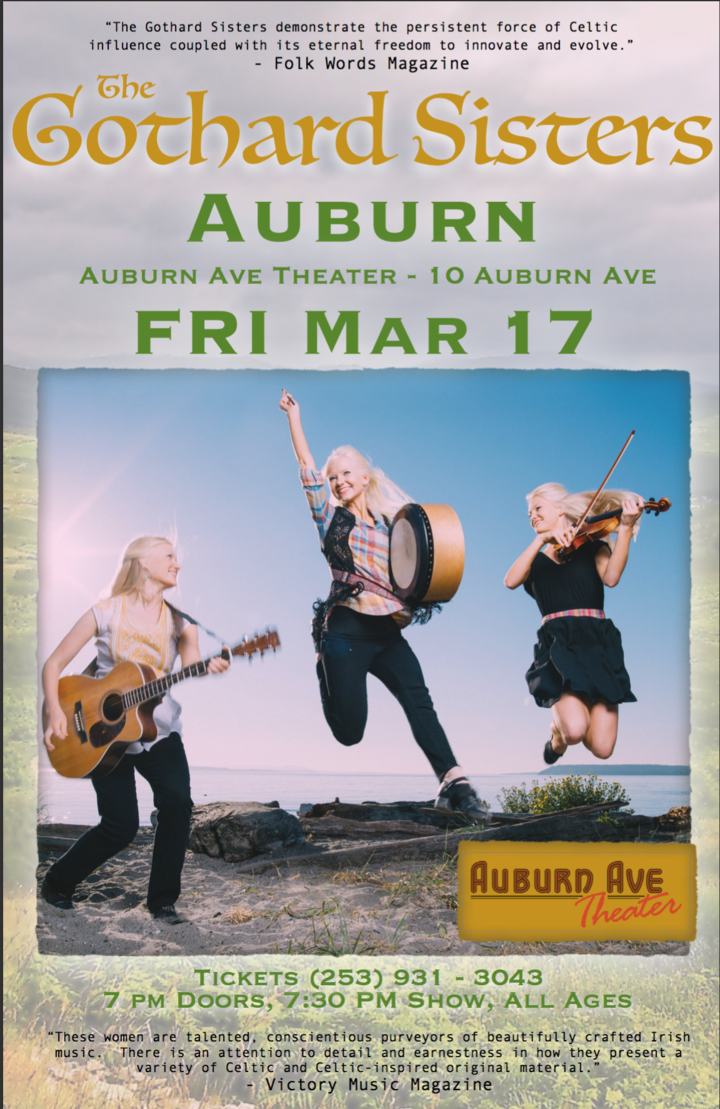 The Gothard Sisters @ Auburn Ave Theater - Auburn, WA