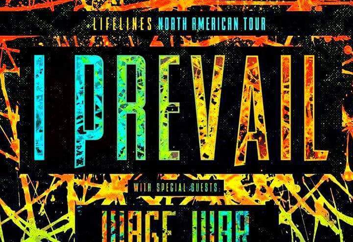 I Prevail @ The Apollo Theater - Belvidere, IL
