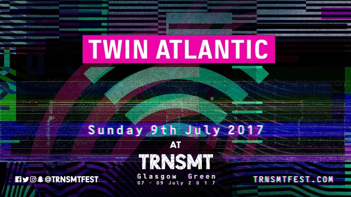 Twin Atlantic @ Glasgow Green - Glasgow, United Kingdom