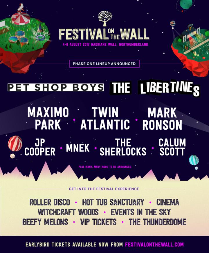 Twin Atlantic @ FESTIVAL ON THE WALL - Northumberland, United Kingdom