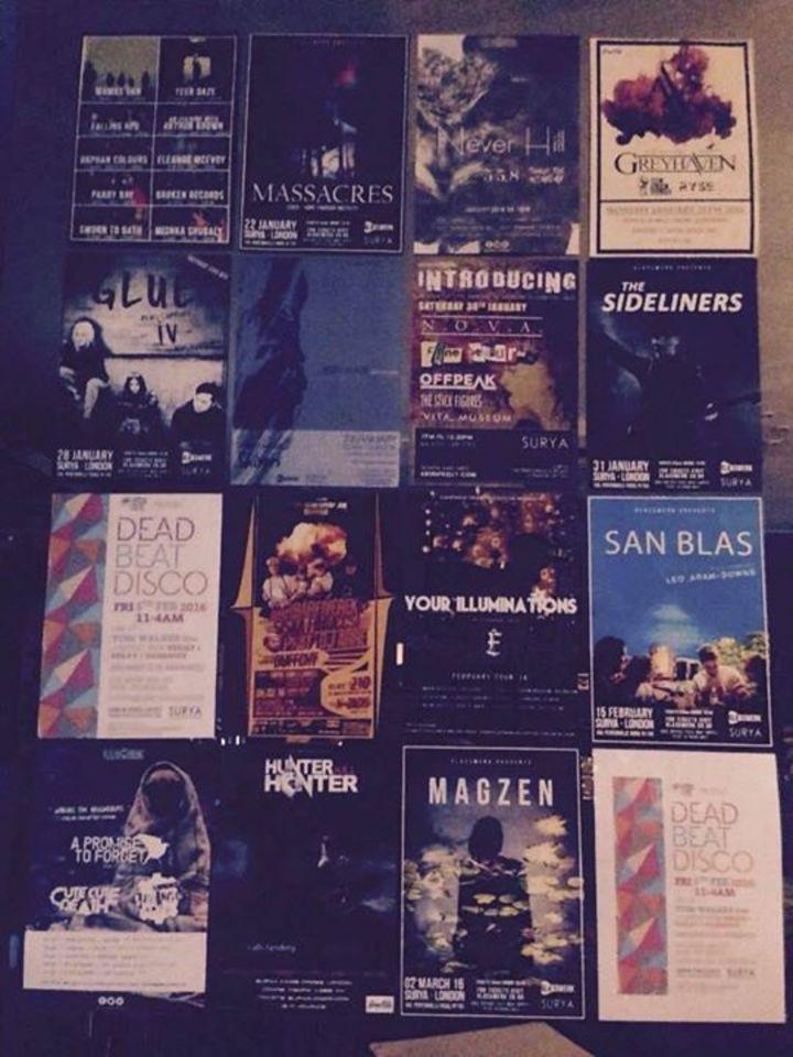 Surya Tour Dates