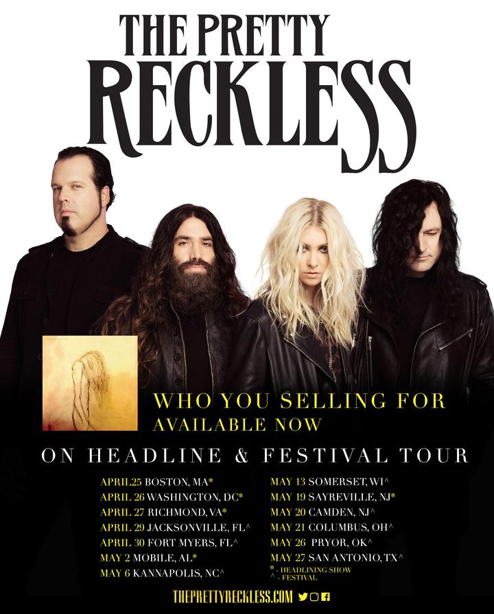 The Pretty Reckless @ Paradise Rock Club - Boston, MA