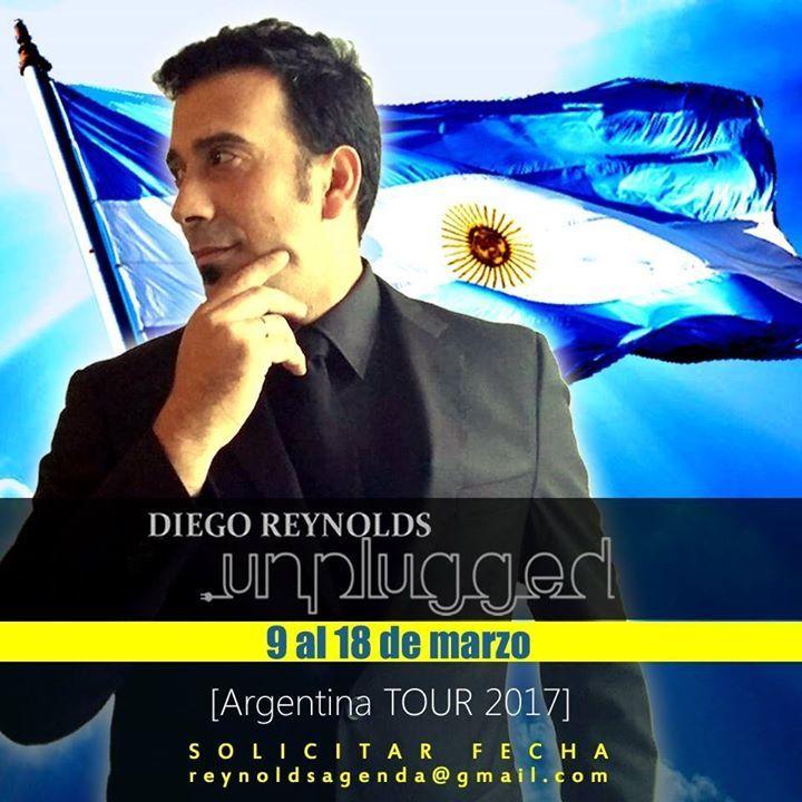 Diego Reynolds Tour Dates