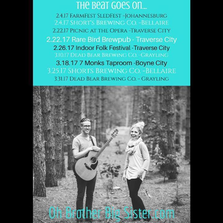 Oh Brother Big Sister Tour Dates