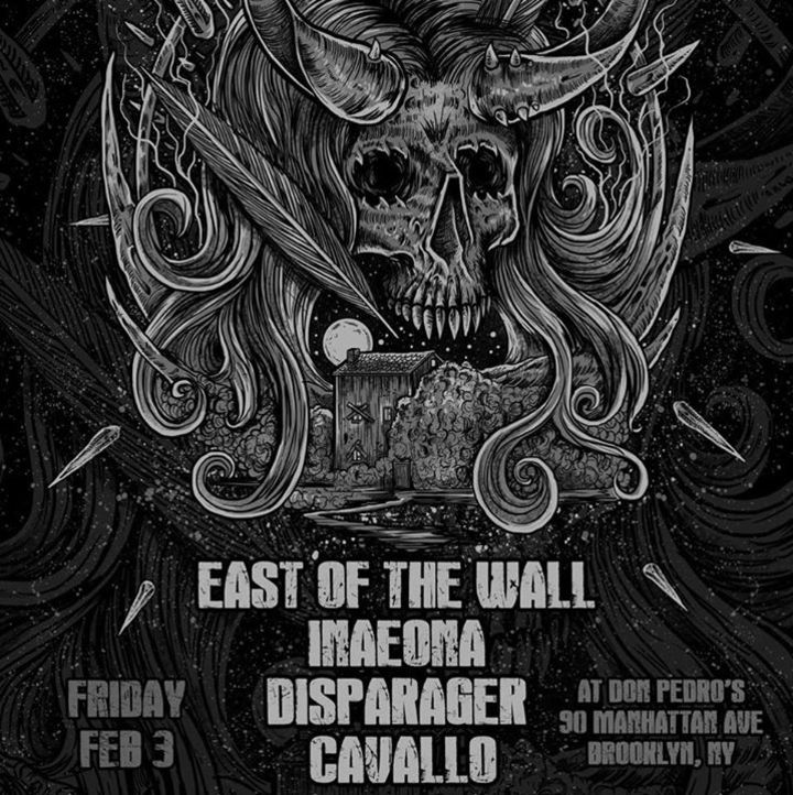 East of the Wall Tour Dates