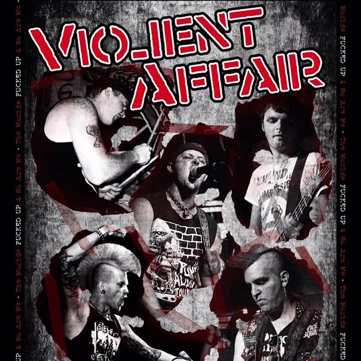 Violent Affair Tour Dates