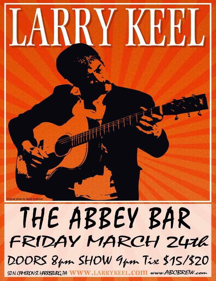Larry Keel @ The Abbey Bar - Harrisburg, PA