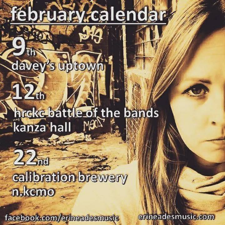 Erin Eades Tour Dates