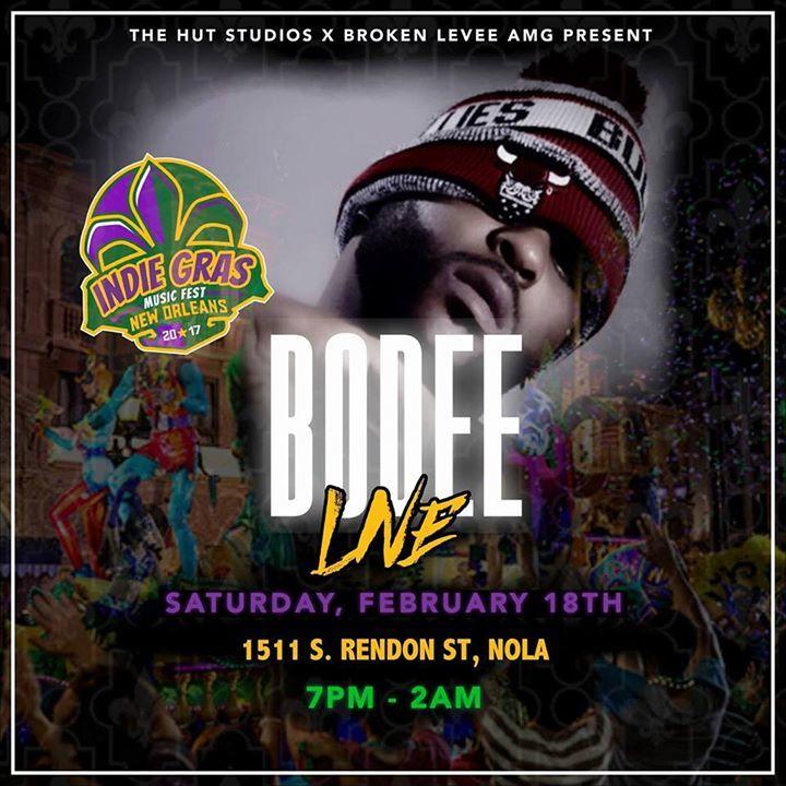 BoDee Tour Dates