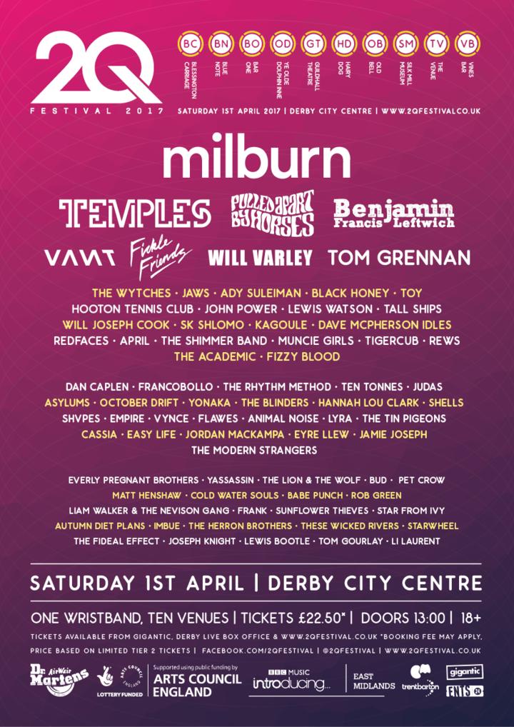 Flawes @ 2Q Festival - Derby, United Kingdom