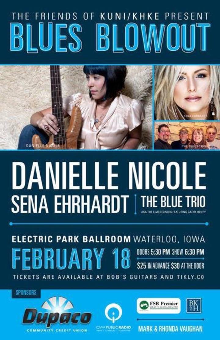 cole allen @ Electric Park Ballroom (Sena Ehrhardt Band) - Cedar Falls, IA