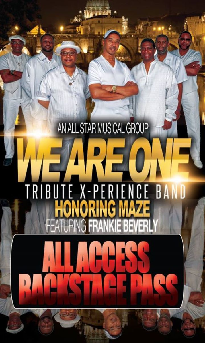 We Are One Tribute X-Perience Band Tour Dates