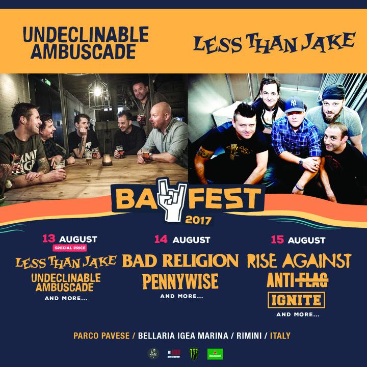 Undeclinable Ambuscade @ BayFest - Rimini, Italy