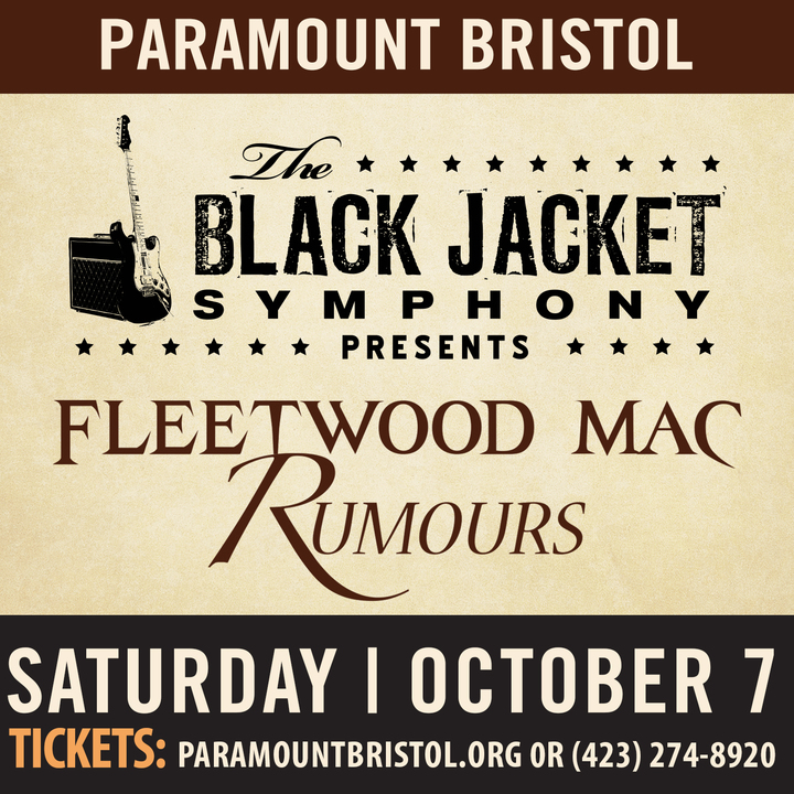 "The Black Jacket Symphony @ Paramount Bristol - Performing Fleetwood Mac's ""Rumours"" - Bristol, TN"