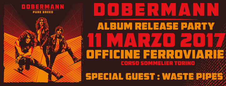 Dobermann @ Officine Ferroviarie Torino - Turin, Italy