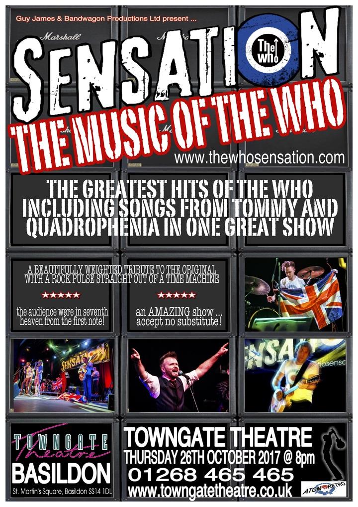The Who Sensation @ Towngate Theatre - Basildon, United Kingdom