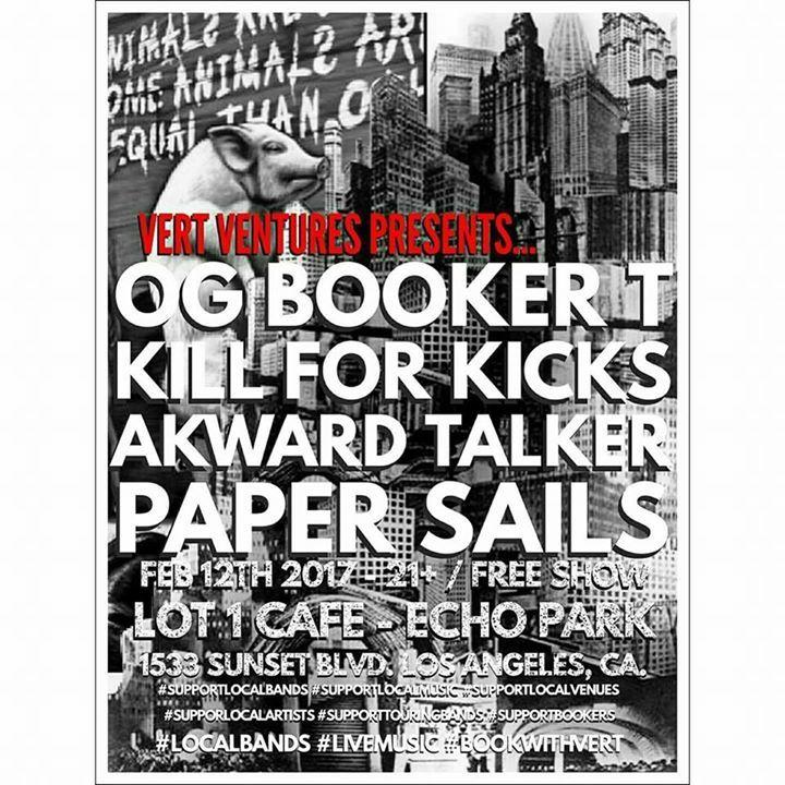 Paper Sails Tour Dates