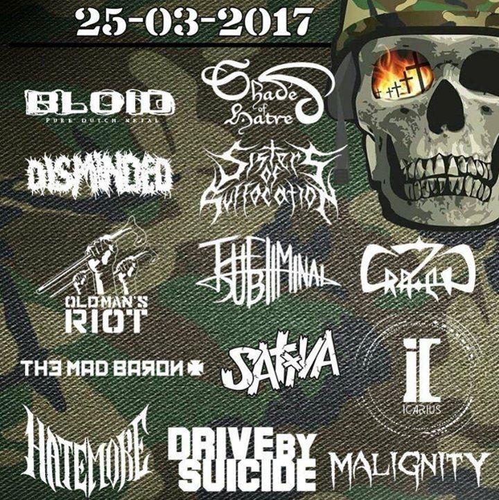 Army Of Metal Tour Dates