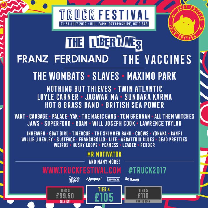 Twin Atlantic @ Truck Festival - Oxford, United Kingdom