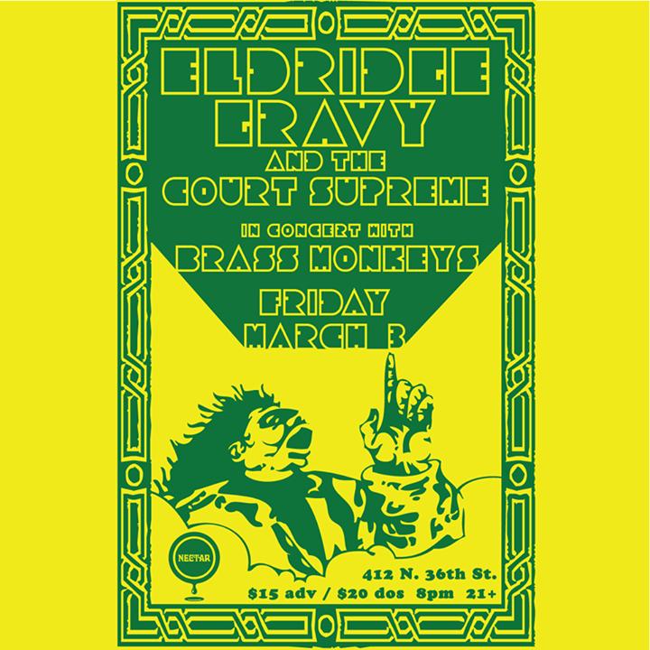 Eldridge Gravy & the Court Supreme Tour Dates