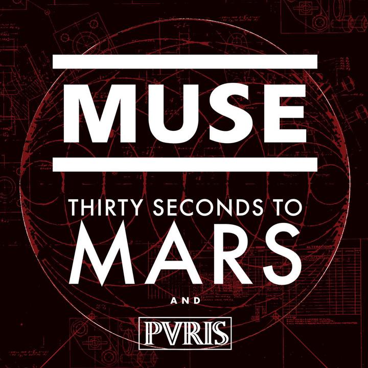 Thirty Seconds to Mars @ USANA Amphitheatre - West Valley City, UT
