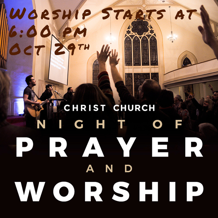God Spot Now @ Christ Church - Night Of Prayer And Worship With The Emerging Sound  - La Porte, IN