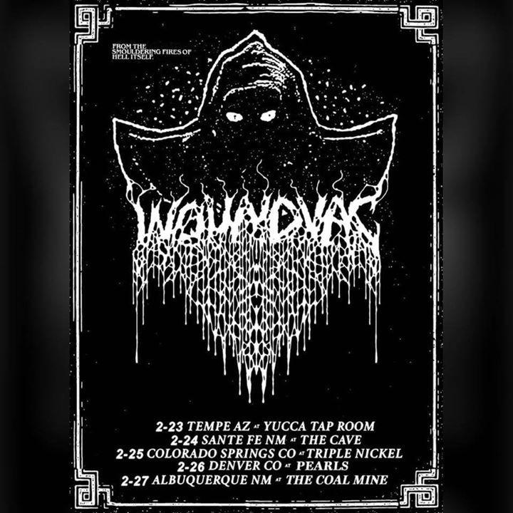 WOUNDVAC Tour Dates