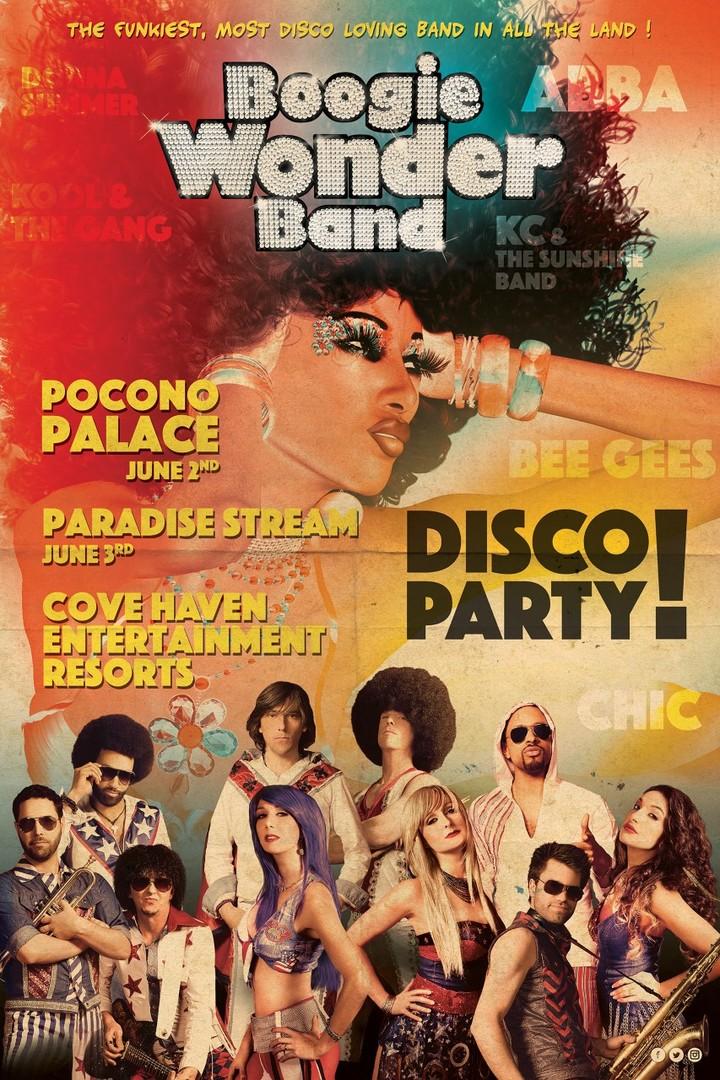 Boogie Wonder Band @ Pocono Palace - East Stroudsburg, PA