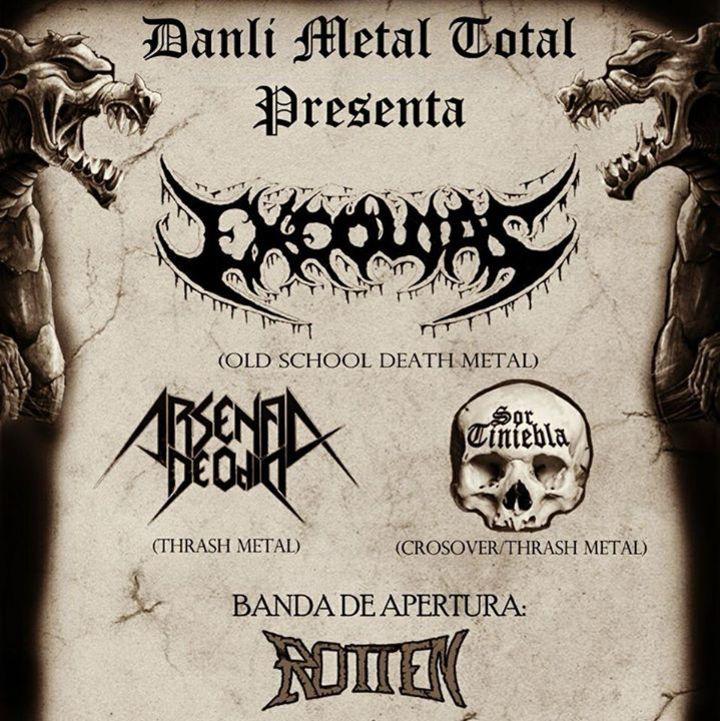 Exequias Tour Dates