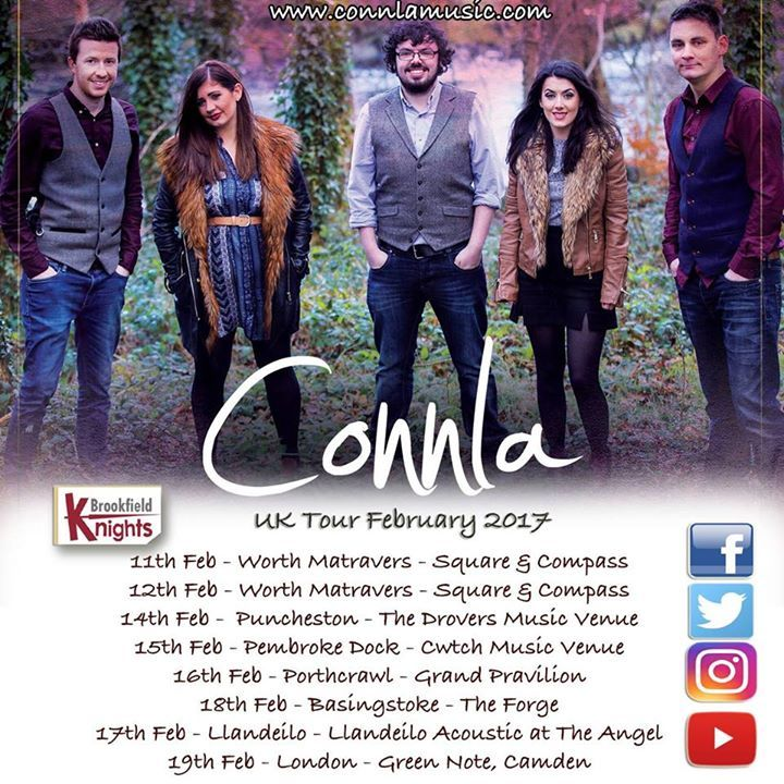 CONNLA Tour Dates