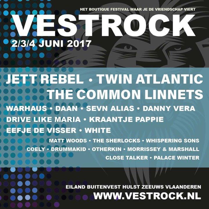 Twin Atlantic @ Vestrock - Hulst, Netherlands