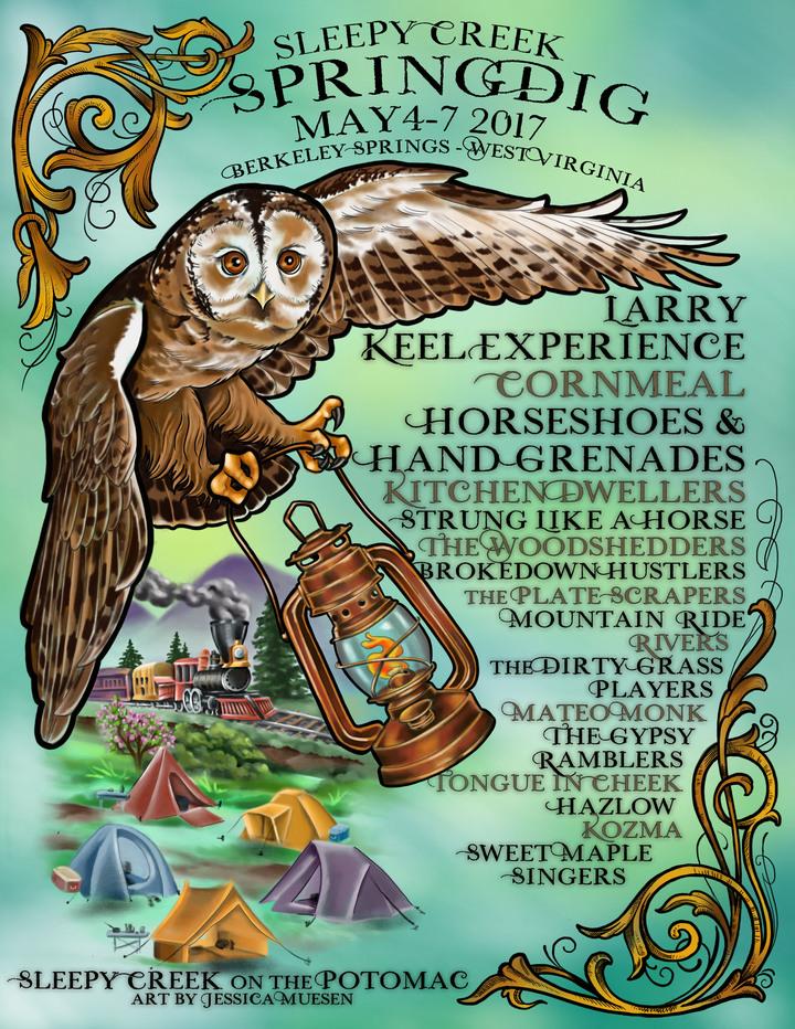 Larry Keel @ Sleepy Creek Campground - Berkeley Springs, WV