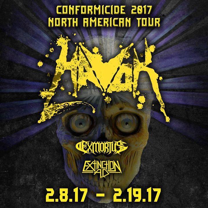 Havok Tour Dates