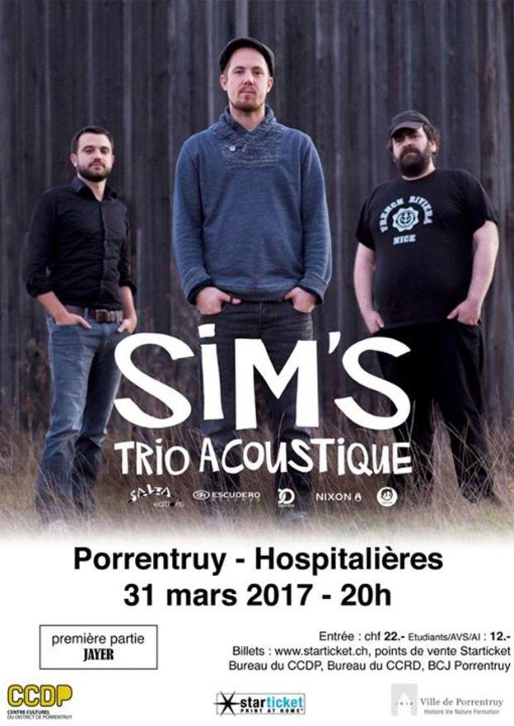 Sim's Tour Dates