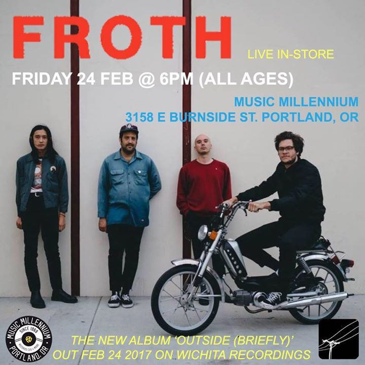 Froth Tour Dates