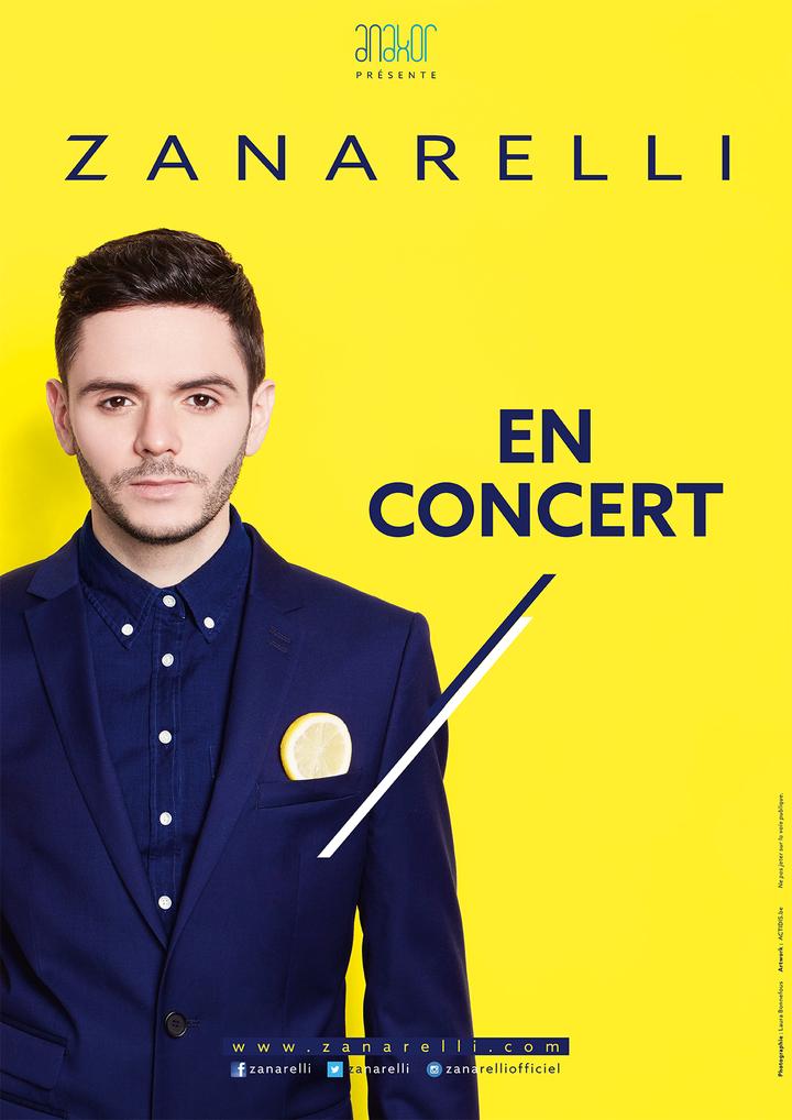 Zanarelli @ Auditorium des Ateliers du Jour - Montceau-Les-Mines, France