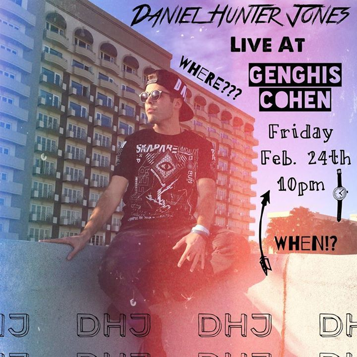 Daniel Hunter Jones Tour Dates