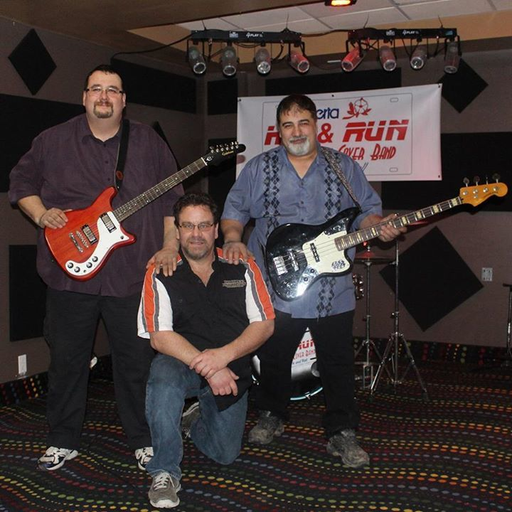 Hit and Run Classic Rock Cover Band Tour Dates