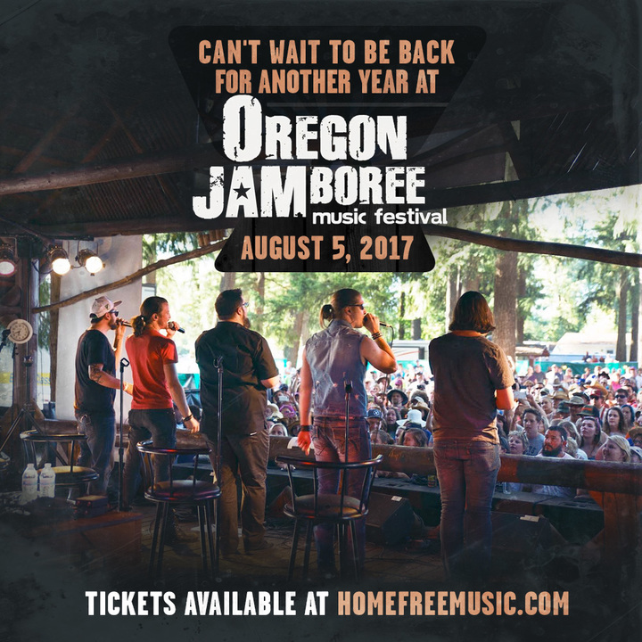 Bandsintown | Home Free Tickets - OREGON JAMBOREE, Aug 05, 2017